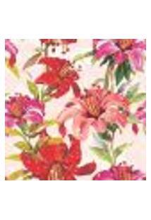 Papel De Parede Autocolante Rolo 0,58 X 3M - Floral 10