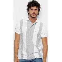 39c090ef5f Camisa Polo Aleatory Fio Tinto Listrada Masculina - Masculino
