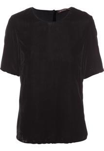 Camiseta Feminina Black Velvet - Preto