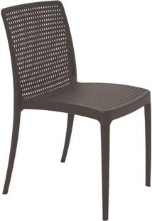 Cadeira Isabelle- Marrom Escuro- 83X56X47Cm- Tratramontina