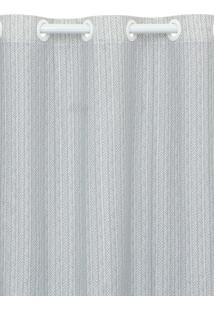 Cortina Santista 180X280Cm Istambul Fred Cinza