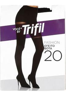 Meia-Calça Feminina Trifil Fio 20 Preto