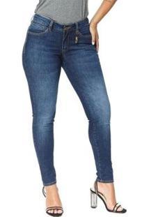 Calça Jeans Denuncia Skinny 201324234 Azul 48 - Feminino