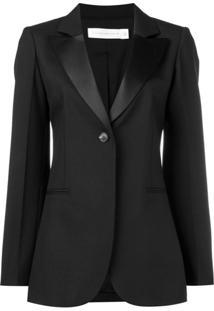 Victoria Beckham Blazer Com Botão Único - Preto