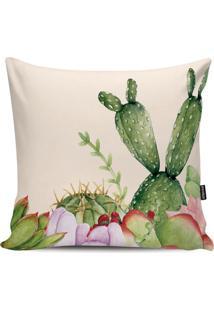 Capa Para Almofada Impermeável Garden- Off White & Verdestm Home