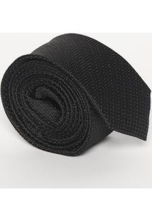 Gravata Texturizada Em Seda - Cinza - 5X148Cmcalvin Klein