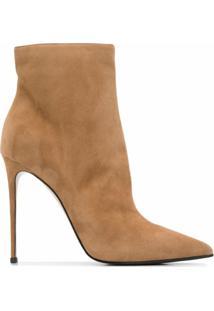 Le Silla Ankle Boot Eva De Camurça - Neutro