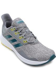 Tênis Adidas Duramo 9 Masculino - Masculino-Cinza+Branco