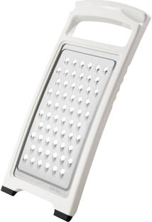 Ralador Para Alimentos Fackelmann Em Metal / Plástico - Branca / Prata