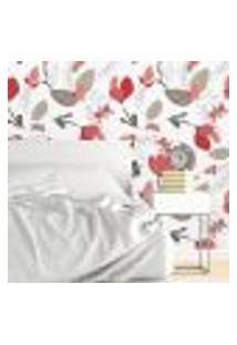 Papel De Parede Autocolante Rolo 0,58 X 5M - Floral 1146