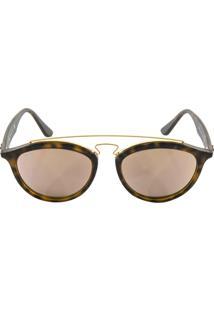 ... Óculos De Sol Ray Ban Gatsby Oval Rb4257 Tartaruga Lente Rosa 97c234538b