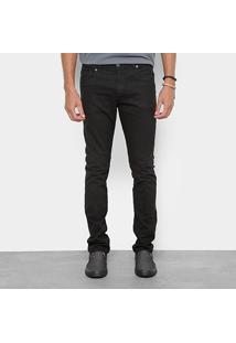 Calça Sarja Skinny Redley Black Confort Masculina - Masculino