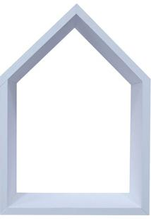 Nicho Home Sweet Home- Branco- 33X28Cm- Kaposkapos