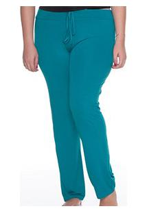 Calça Lisa Visco E-Pijama (5434) Plus Size