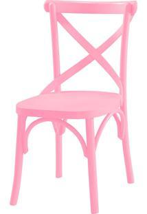 Cadeiras Para Cozinha X 87 Cm 901 Rosa Cristal - Maxima