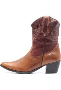 Bota Elite Country Dallas Fossil Mostarda