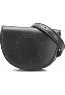 Stella Mccartney Pochete Com Logo Stella - Preto