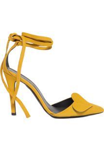 Scarpin Coração - Amarelo