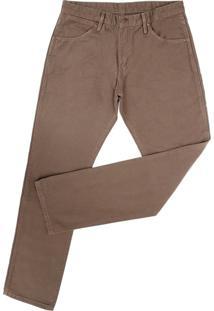 Calça Jeans Wrangler Marrom