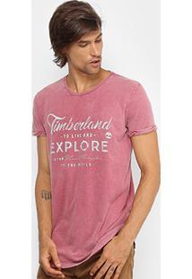 Camiseta Timberland Explore Long Masculina - Masculino