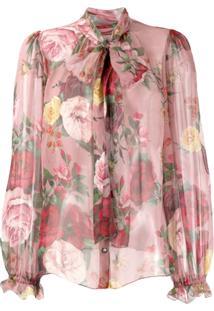 Dolce & Gabbana Blusa Romantic - Rosa