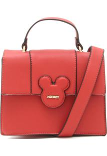 Bolsa Mickey Mouse Logo Vermelha