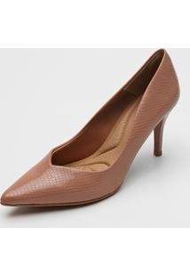 Scarpin Dafiti Shoes Textura - Feminino - Dafiti