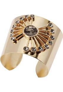 Bracelete Zohar Acessórios Leque Dourado
