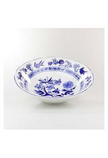 Saladeira 24 Cm Porcelana Schmidt - Dec. Cebolinha