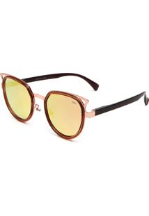 Óculos De Sol Polo London Club Gatinho Bronze