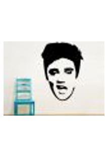 Adesivo De Parede Elvis Presley 3 - M 40X29Cm