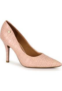 Sapato Scarpin Vizzano Croco