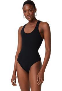 Body Tricot Básico Nadador