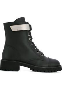 Giuseppe Zanotti Ankle Boot Clássica - Preto