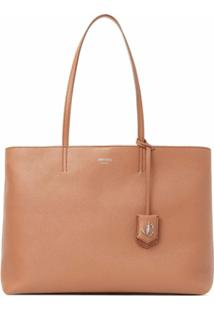 Jimmy Choo Bolsa Tote Nine2Five - Marrom