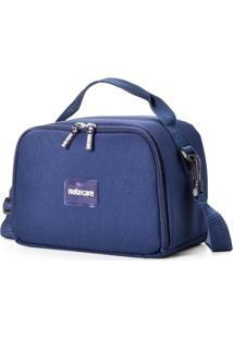 Bolsa Térmica Notecare Urban Plus Kit Refeição Azul Marinho