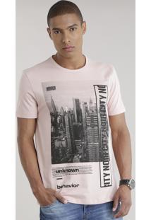 "Camiseta ""Mirror"" Rosê"