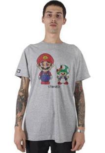 Camiseta Stoned Mario Masculina - Masculino