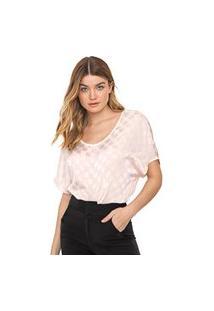 Blusa Calvin Klein Poás Rosa