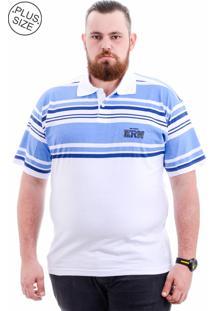 Polo Kairon Plus Size Branco