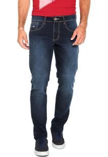 Calça Jeans Triton Lavagem Azul