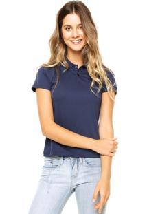 107f702f859ff ... Camisa Polo Manga Curta Malwee Confort Azul