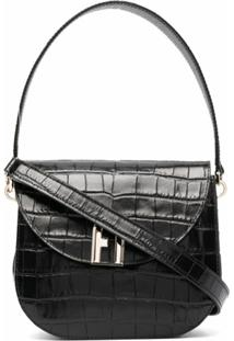 Furla Sleek Crossbody Bag - Preto
