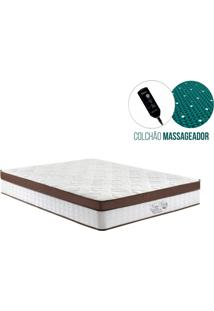 Colchao Magnetico Queen - Anjos – New King Magnetico Massageador - 158X198X30Cm
