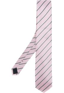 Boss Hugo Boss Gravata Listrada - Pink & Purple
