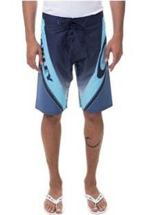 Bermuda Boardshort Oakley Gnarly Sport Blackout - Masculino-Azul