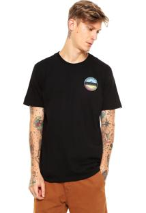 Camiseta Quiksilver Classic Preta