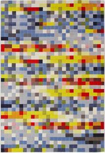 Tapete Pixel N Retangular Veludo (250X350) Colorido