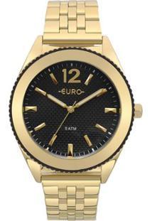 cae6339937f ... Relógio Euro Feminino Metal Trendy - Eu2036Ymk 4P Eu2036Ymk 4P -  Feminino-Dourado