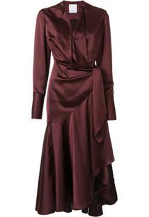 Acler Vestido Loftin - Vermelho